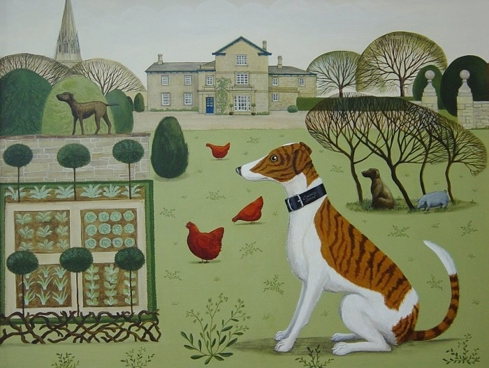 Catriona Hall, Edensor Chatsworth Estate